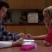 Quinn Fabray and Finn Hudson