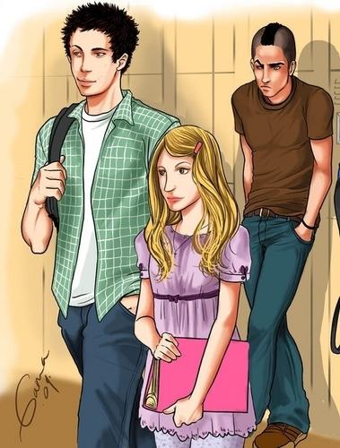 Quinn/Finn/Puck fanart