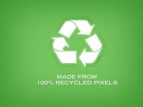 Recycled Pixels