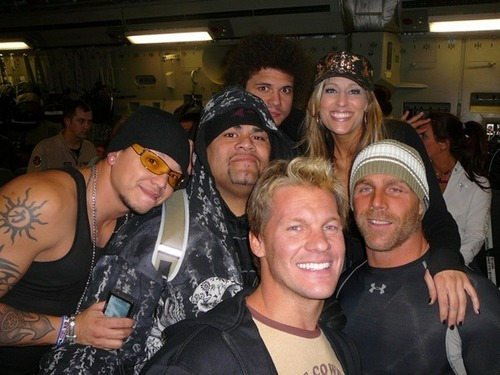 Rey,Umaga,Carlito,Lillian,Shawn,and Jericho