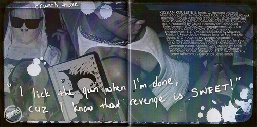 リアーナ Rated R Album Booklet 写真