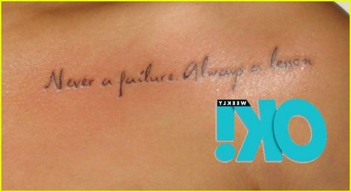 Rihanna's new Tattoo