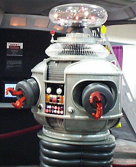 Robot from original Lost in Space - funny-robots Photo