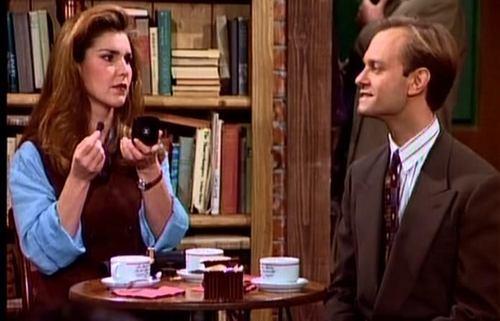 Frasier fondo de pantalla with a business suit called Roz Doyle