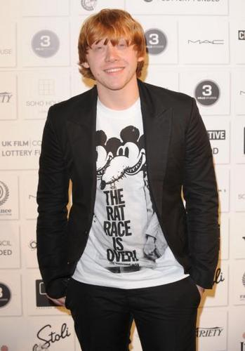 Rupert Grint (BIFA Awards)
