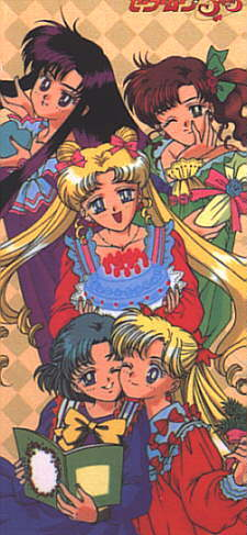 Sailor Moon Sailor Stars karatasi la kupamba ukuta containing anime titled Sailor Moon Sailor Stars Xmas