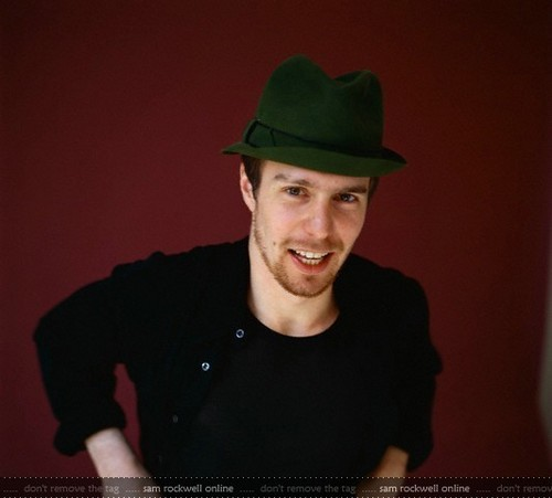 Sam Rockwell | Photoshoot with Various Hats