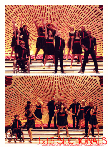 Sectionals 1x13 - glee Fan Art