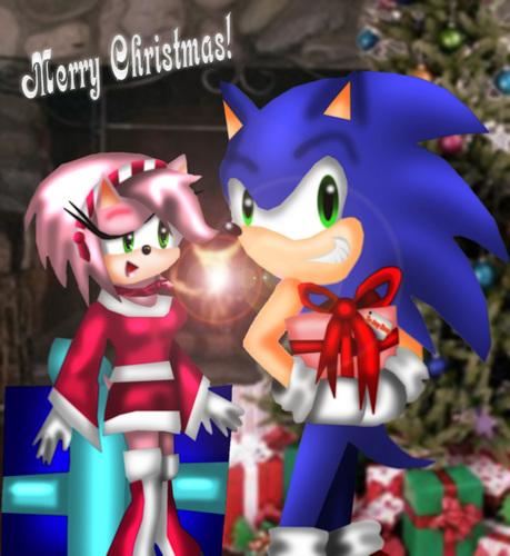 SonAmy クリスマス