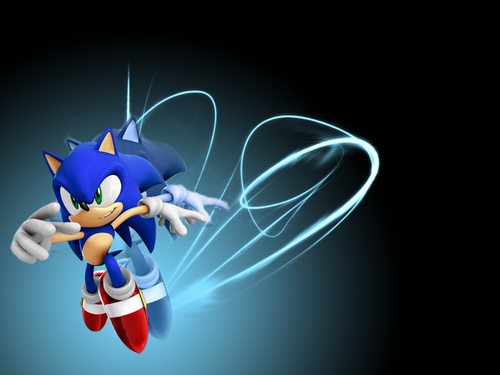 Sonic the Hedgehog wallpaper entitled Sonic run