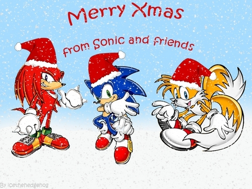 Sonic xmas