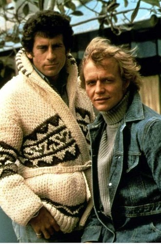 Starsky and Hutch (1975) 壁纸 possibly with a pullover called Starsky and Hutch