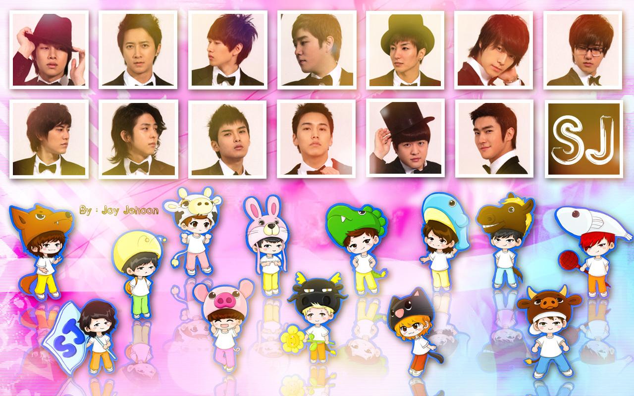 Super Junior Cartoon