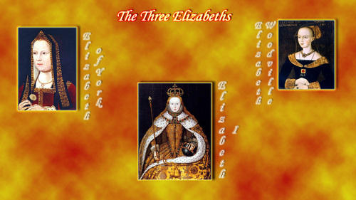 The Three Elizabeths - tudor-history Wallpaper
