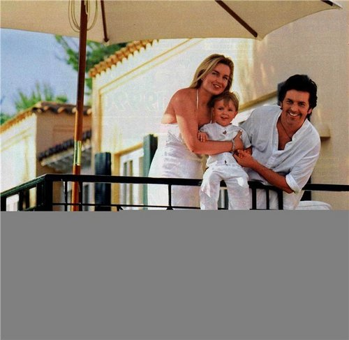 Thomas Anders Hintergrund entitled Thomas Anders & his family