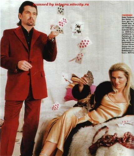 Thomas Anders achtergrond with a well dressed person called Thomas Anders & his family