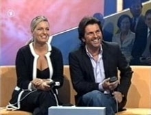 Thomas Anders achtergrond possibly with a business suit called Thomas Anders & his family