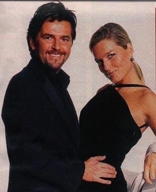 Thomas Anders Hintergrund containing a business suit called Thomas Anders & his family