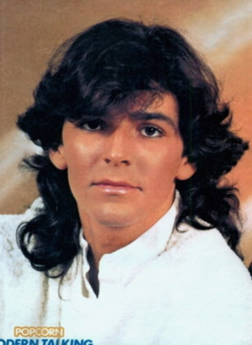 Thomas Anders achtergrond with a portrait titled Thomas Anders