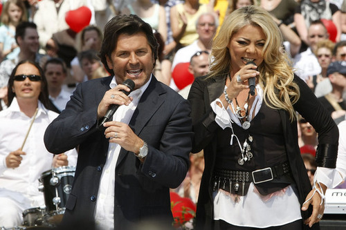 thomas anders wallpaper entitled Thomas & Sandra