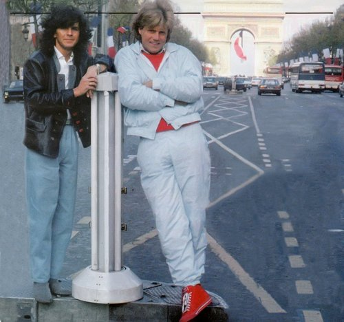 modern talking wallpaper containing a rua called Thomas and Dieter in Paris
