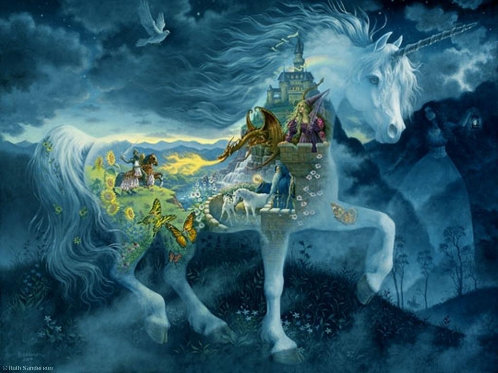 Unicorn Dream Unicorns Wallpaper 9366550 Fanpop