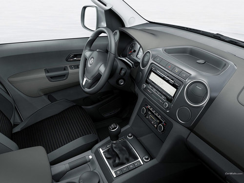Volkswagen fond d'écran possibly with an automobile and a dashboard titled Volkswagen Amarok
