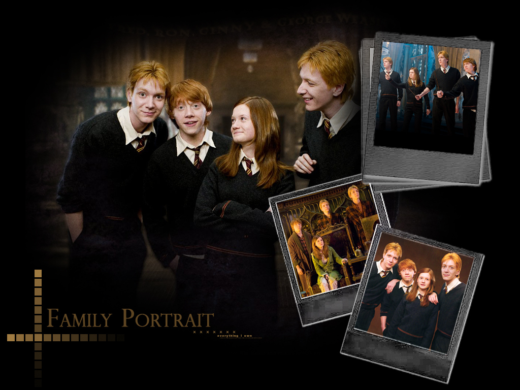 Weasleys - harry-potter wallpaper