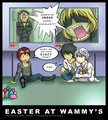 Where's the Easter Chocolate - wammys-house fan art