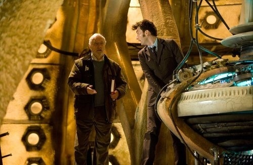 Wilf in The Tardis - The End of Time