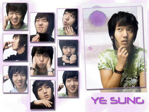 Super Junior karatasi la kupamba ukuta with a portrait entitled Yesung