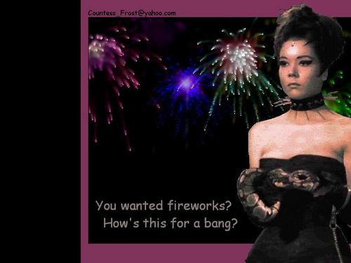 Ты wanted fireworks?
