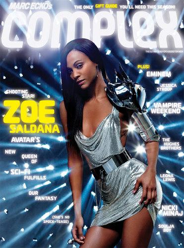Zoe Saldana | Complex Photoshoot