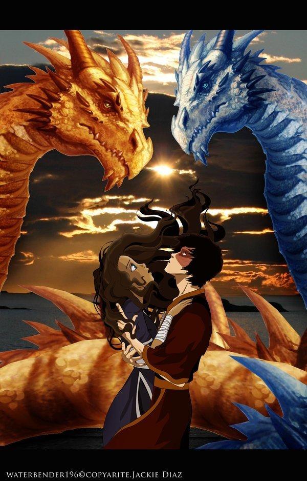 avatar katara and zuko. Zuko and Katara lt;3