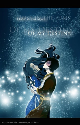 Zutara: Of Fire and Water wallpaper called Zuko and Katara <3