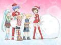 a vocaloid Christmas!