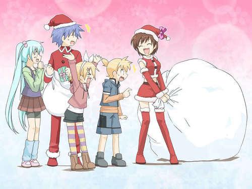 a Вокалоид Christmas!