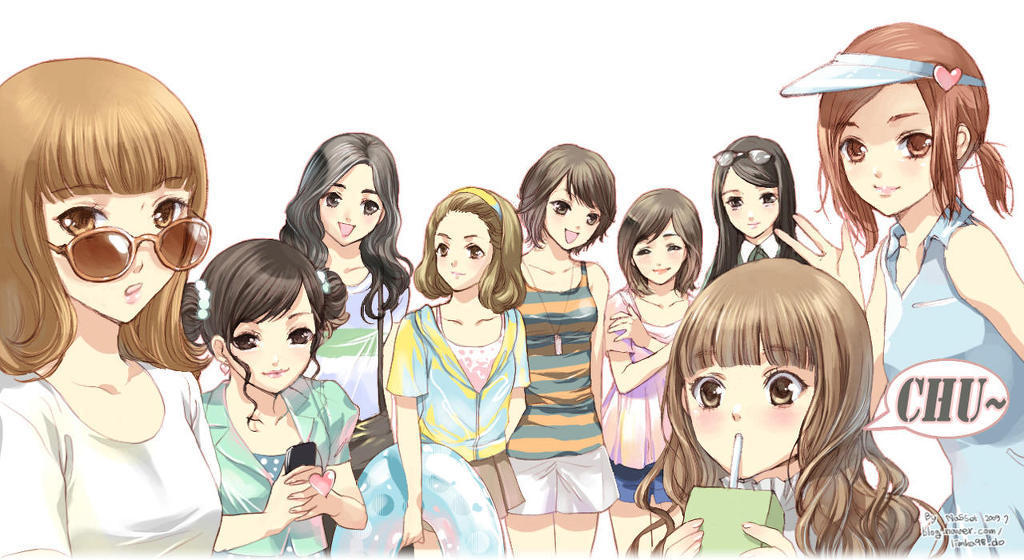 Girls generation snsd art