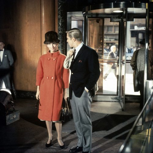 Breakfast At Tiffany's wallpaper containing a business suit, a well dressed person, and a suit entitled behind scenes