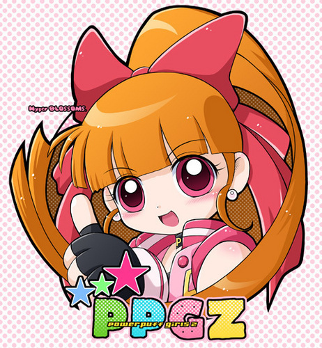 powerpuff girls Z wallpaper containing anime titled candy momoko