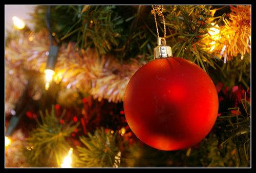 christmas boom ball