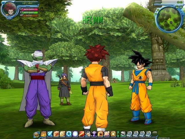 dragon ball z the game