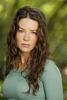 Lost wallpaper with a portrait titled evangeline lilly