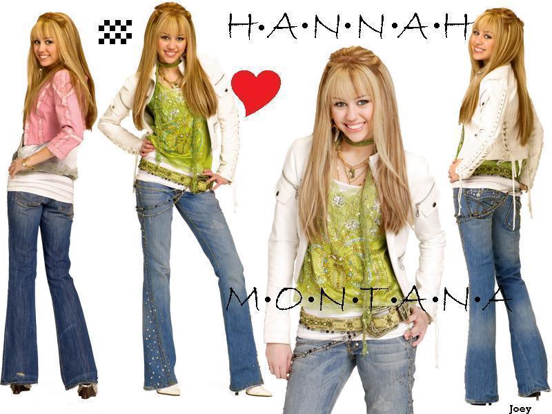 hannah the Disney étoile, star