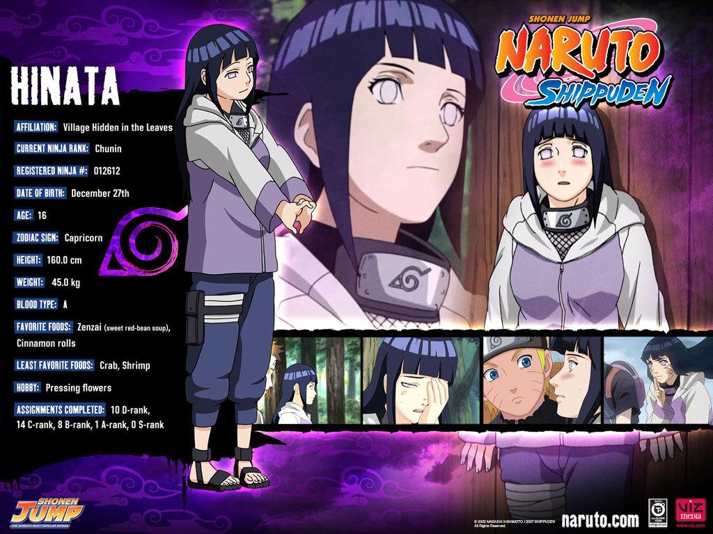 hinata's profil fond d'écran