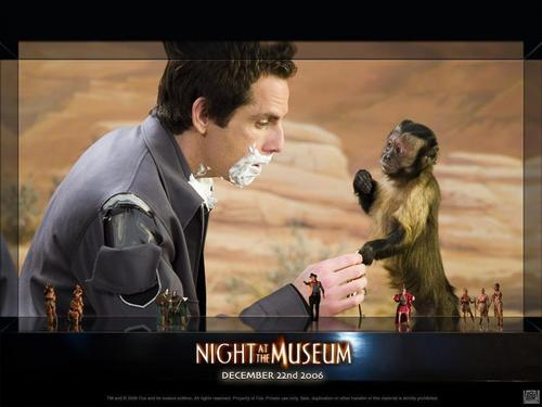 lary and dexter - night-at-the-museum Photo