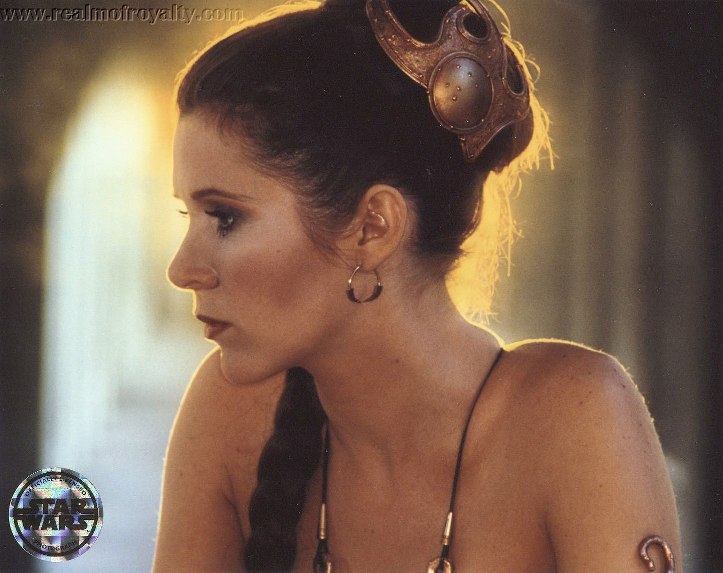 Carrie Fisher Princess Leia Slave Bikini