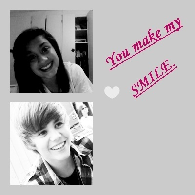 me and justin bieber MDR :P
