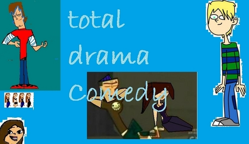 my cast of total drama Comedy!