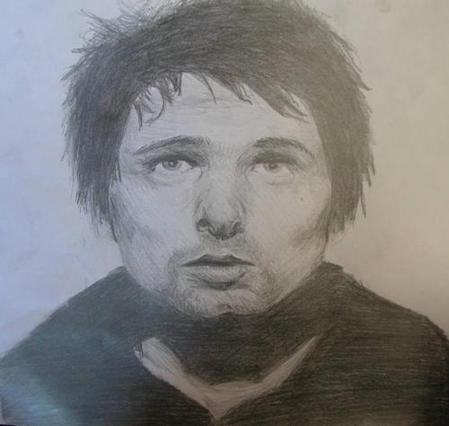 Matthew Bellamy Обои called my matt drawing